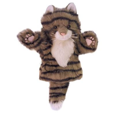 8032PC Кукла ръкавица за куклен театър: Сиво коте
