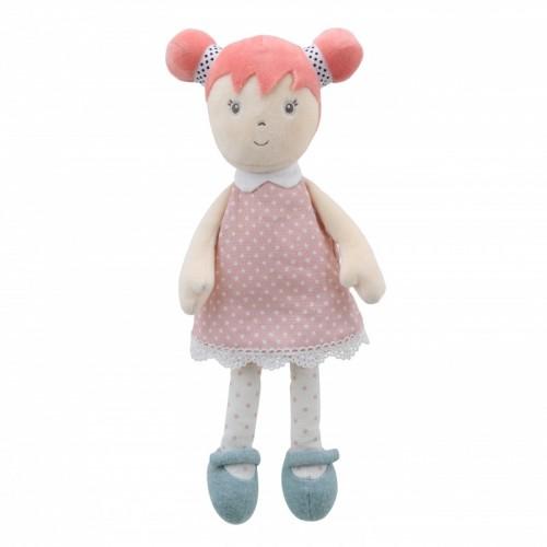 WB001030 Мека парцалена кукла: Попи, 34 см