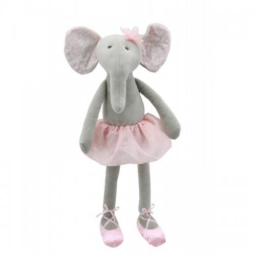 WB004121 Мека играчка: Слонче, балерина, 30 см