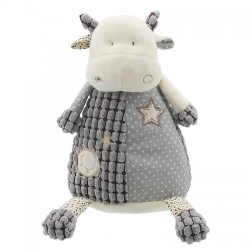 WB004437 Плюшена играчка: Сива кравичка, 32 см