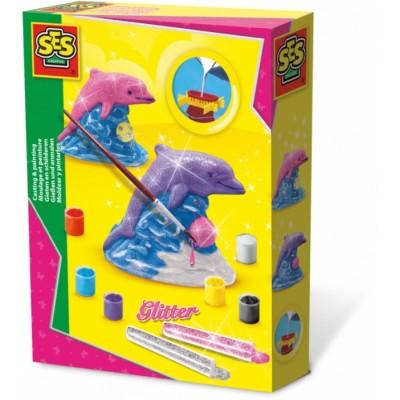 01286 SES Creative: Направи си сам: 3D делфин от гипс