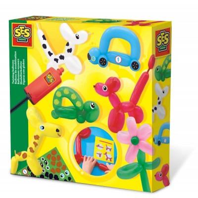 14017 SES Creative: Направи си сам: Фигури и животни от балони
