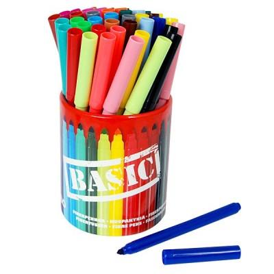 10514 Sense: Флумастeри с моливник Jumbo, 42 цвята