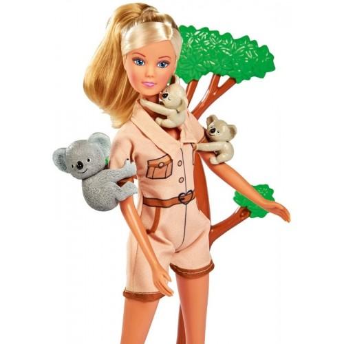 3490 Simba: Кукла барби: Стефи с коала