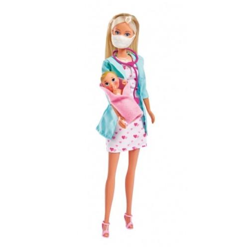 3493 Simba: Кукла барби: Стефи педиатър