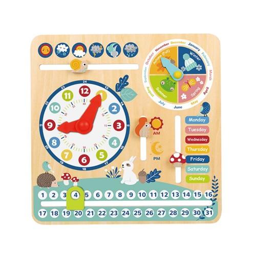 TF329 Tooky Toy: Детски образователен календар с часовник