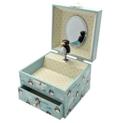 20801 Trousselier: Светеща в тъмното музикална кутия: Пингвин