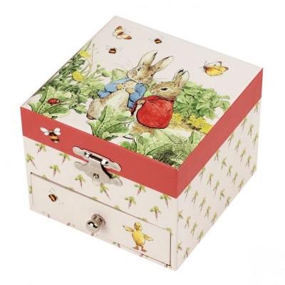 20861 Trousselier: Музикална кутия: Зайчето Питър в градина