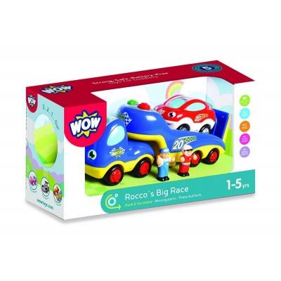 04015 WOW Toys Автовоз със състезателна кола