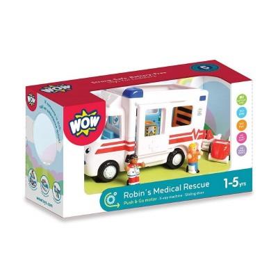 10141 WOW Toys Детска линейка с оборудване