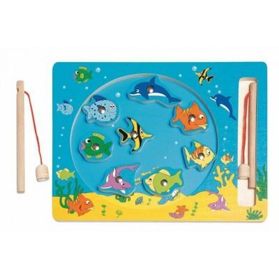 90026 Woody: Магнитна игра на риболов